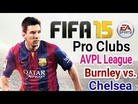Burnley 3 Chelsea 1 AVPL League