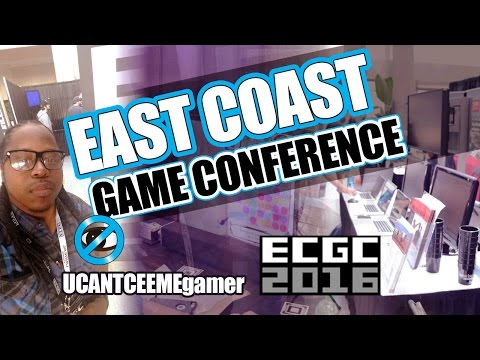 East Coast Gaming Conference 2016 (ECGC) - Experience - VR | Technology | Job Opportunities