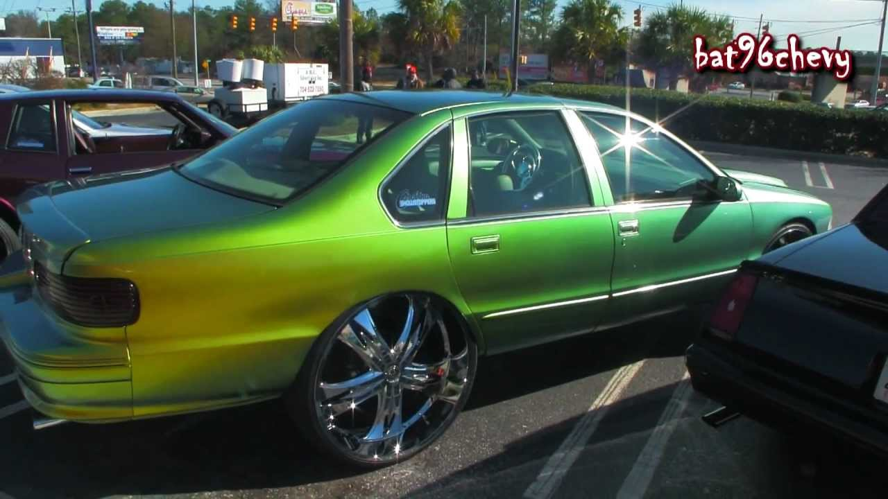 Chameleon 96 Chevy Impala Ss On Dub 28 S 1080p Hd Youtube