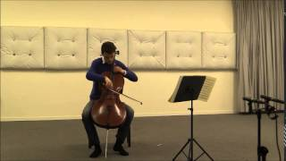 Max Reger Suite Nr. 2 Cello solo d-moll