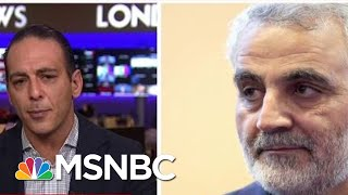 'Escalation'? US Airstrike Kills Iranian Commander - Day That Was | MSNBC