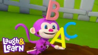 Laugh & Learn™ | Monkey ABC | Cartoons and Kids Songs | Learn ABCs + 123s | Nursery Rhymes |