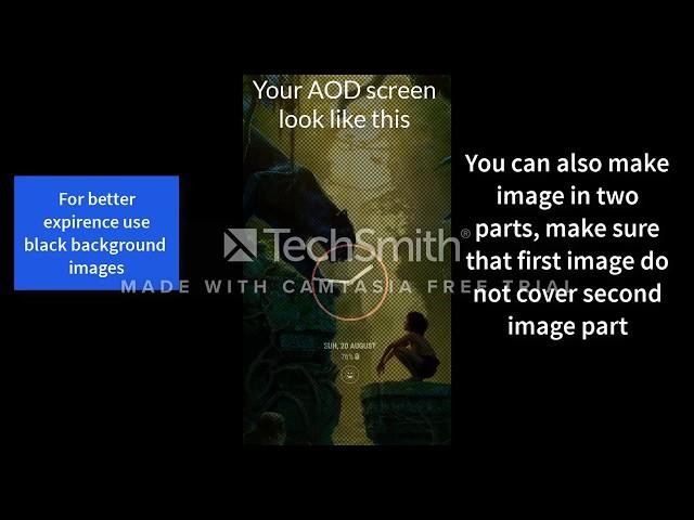 Custom AOD (Add images on Always On Display) v2 7 [Unlocked] APK
