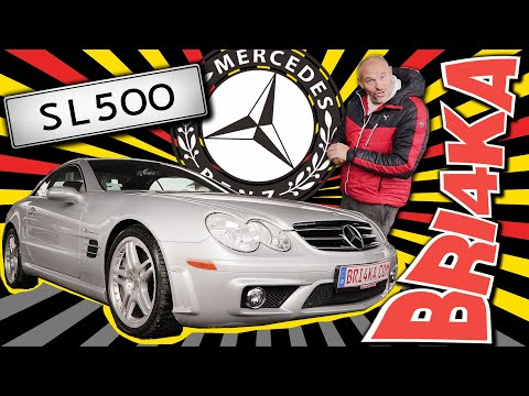 Mercedes-Benz SL-Class (R230)   Test and Review   Bri4ka.com