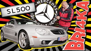 Mercedes-Benz SL-Class (R230) | Test and Review | Bri4ka.com