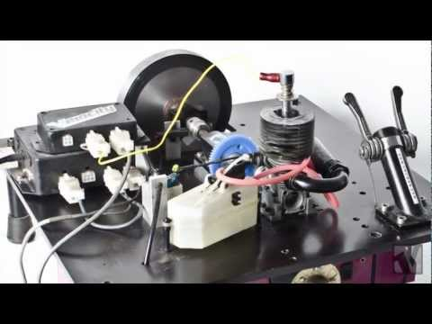 Nitro RC Car Engine X-DYNO with Velocity RC Magazine