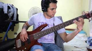 IRON MAIDEN - Afraid To Shoot Strangers. Bass Cover by Samael.