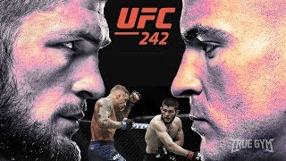 Промо боя Хабиб Нурмагомедов против Дастина Порье на UFC 242