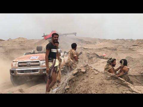 الشرعية تحاصر مطار الحديدة وميليشيات الحوثي تهرب الى حرمه | ستديو الآن  - نشر قبل 2 ساعة