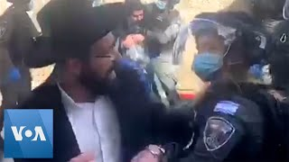 Israeli Police Clash With Orthodox Protesters