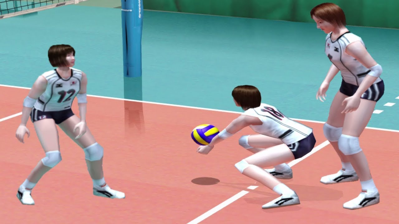 Ps2 Women S Volleyball Championship Game In Hong Kong Youtube