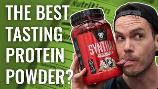 BSN Syntha 6 Protein Powder - The Best Tasting Whey?