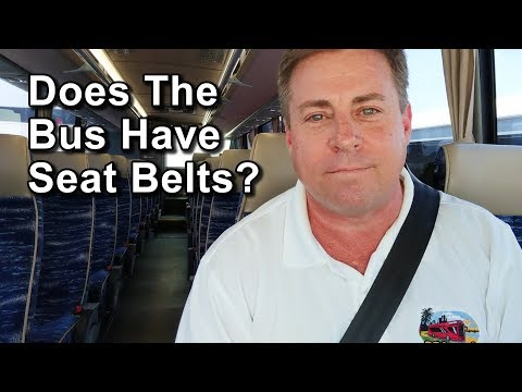 Does The Tour Bus Have Seat Belts?