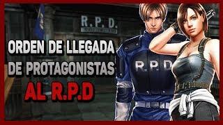¿Quien llego primero al R.P.D? ( Resident Evil)