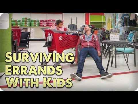 SURVIVING ERRANDS WITH KIDS | DADventures: The Nive Nulls