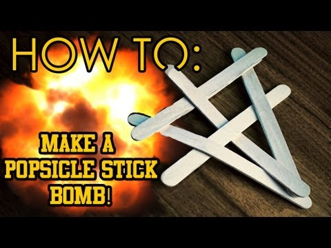 How To Make A Popsicle Stick Bomband Other Cool Tricks Youtube