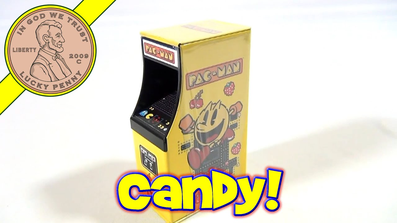 Day #2   24 Days Of Christmas 2012 Advent Calendar (Pac Man Mini Arcade  Candy) Santa Toy Contest   YouTube