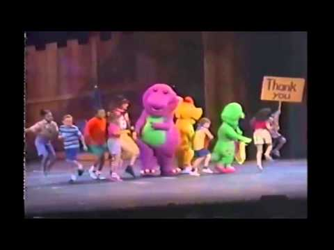 Barney Song: Please and Thank You [1994] Travel Video