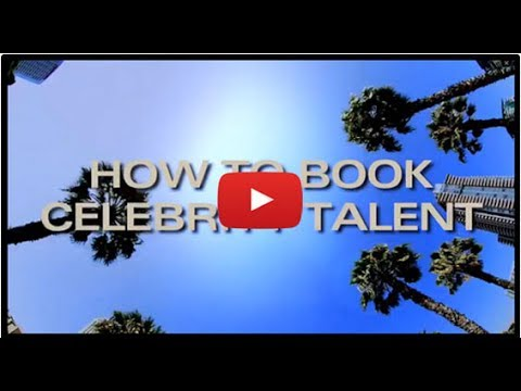 How to Book Celebrity Talent - The Big Name Video