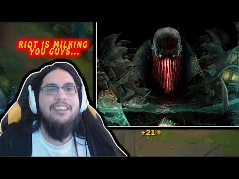 IMAQTPIE REACTS TO PYKE THE NEW CHAMPION | LEEVI COMBO | LOL