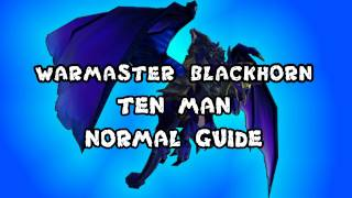 Warmaster Blackhorn 10 Man Normal Dragon Soul Guide - FATBOSS