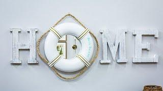 Diy Life Preserver Mirror - Home & Family