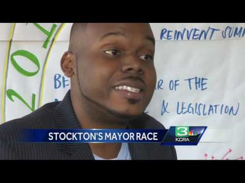 Stockton Mayoral Race: Meet Michael Tubbs