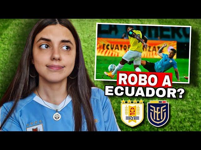 URUGUAY vs ECUADOR   Reacción de HINCHA URUGUAYA   Eliminatoria Qatar 2022