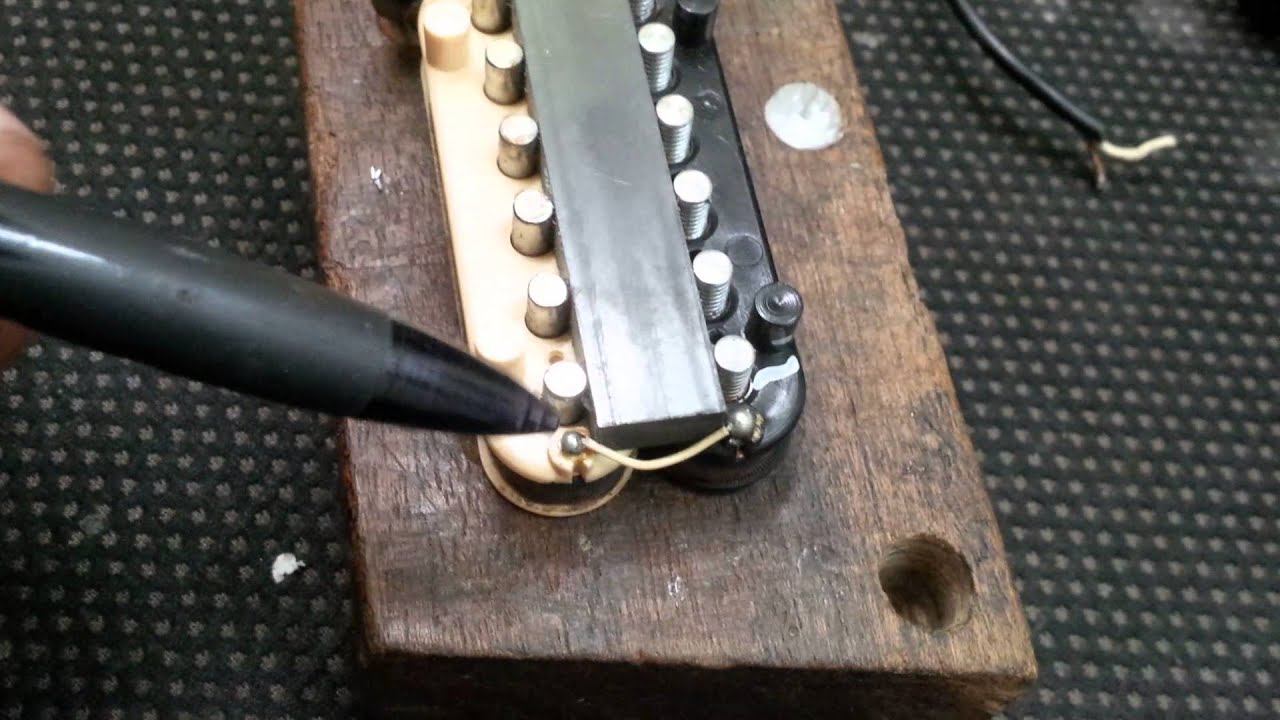Guitar Pickup Conversionfrom 2 To 3 Or 4 Conductor Youtube Gibson Burstbucker Wiring Schematic