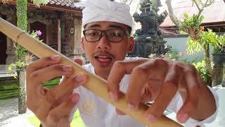Cara memainkan suling Bali, tutorial ngunjal angkihan - Stafaband