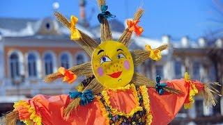 С Масленицей поздравляю! Блинов с икорочкой желаю! With carnival congratulations!
