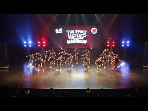 iDANCE - Philippines (Megacrew Division) at HHIPH2018 National Championship