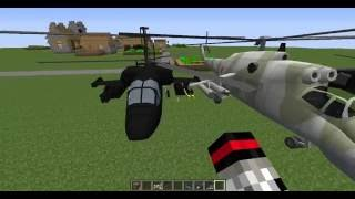 скачать моды на майнкрафт 1.7.10 на вертолёты #6