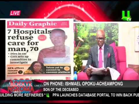 Son of 70-year-old man who died over lack of beds in 7 hospitals narrates story