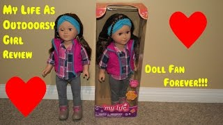 My Life As Outdoorsy girl review | Doll fan forever!!!