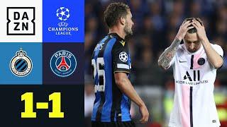 Forsche Belgier erkämpfen sich ein Punkt: Brügge - PSG 1:1 | UEFA Champions League | DAZN Highlights