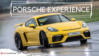 Porsche Experience - szybkie tempo jest tutaj obowiązkowe