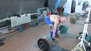 Михаил Петрович Вербицкий 63 года ,становая тяга raw 280 кг!!!