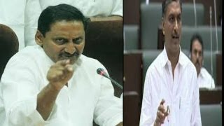 CM Kiran Kumar Reddy Vs TRS Minister Harish Rao In AP Assembly   PV Narasimha Rao   TV5 News