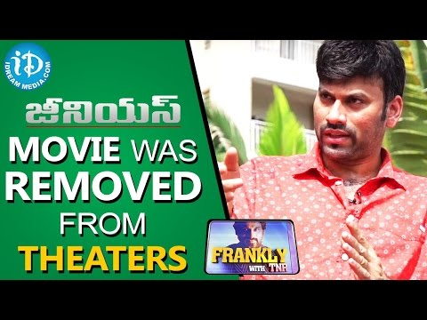 Genius Movie Was Removed From Theatres Because of Big Movies - Omkar || Frankly With TNR