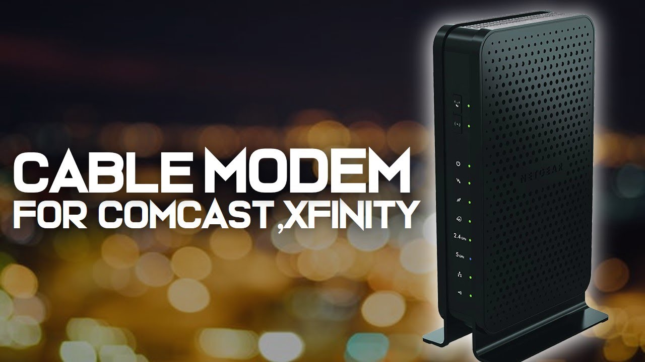 10 Best Cable Modems 2019 For Comcast Xfinity Youtube
