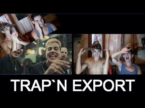 DUKI, Ysy A, Neo Pistea - TRAP N' EXPORT (Oficial) Shot By Balve (Reacción)