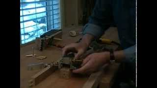 How To Build The Dowelmax Chair Part 1 - Joining The Angled Side Rail To The Chair Leg