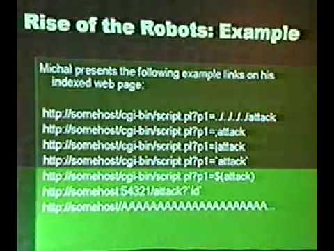 DEF CON 11 - J0hnny Long - Watching the Watchers: Target Exploitation via  Public Search