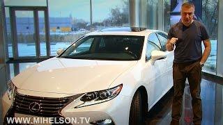 видео Lexus ES 2018 года цены и комплектации