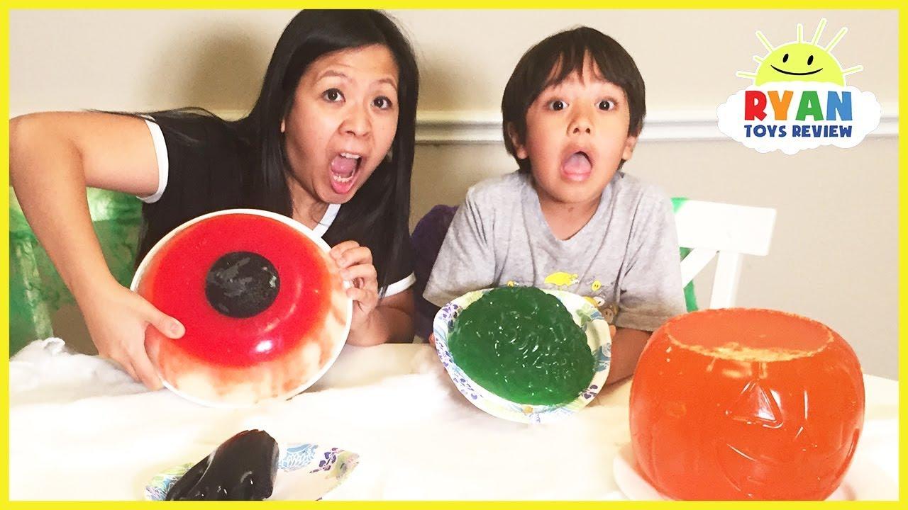 Halloween Gummy Food Vs Real Food Challenge Youtube