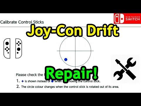 Joy-Con Drift Repair