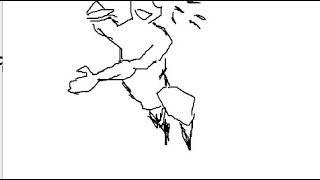 (크로키)애니(이지툰)+(좀비사냥 연습 3장)모션