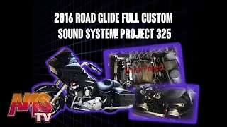 2016 Road Glide Full Custom Sound System!! Project 325