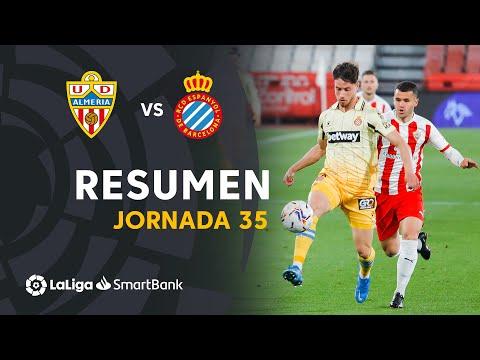 Resumen y goles del UD Almería 1-1 RCD Espanyol